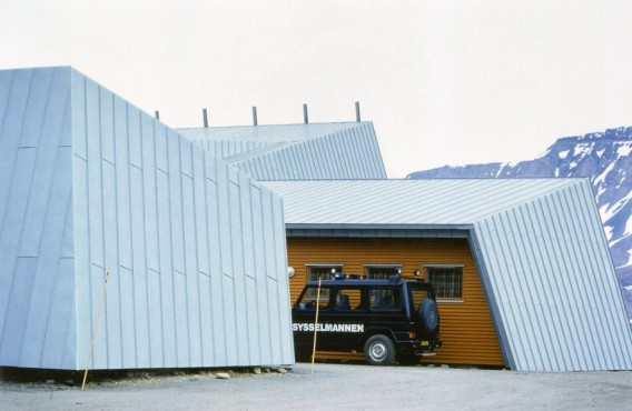 Administration Building Svalbard
