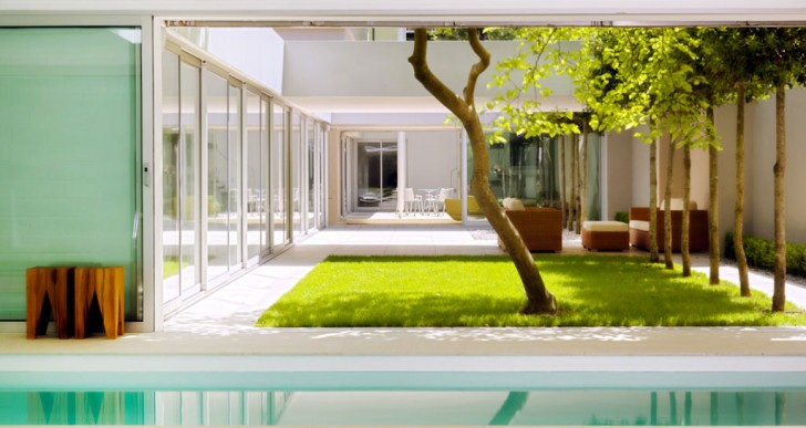 Atrium House swimming pool | ideasgn