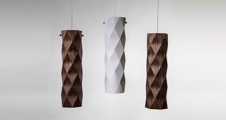 Folded Lamp / Ariel Zuckerman
