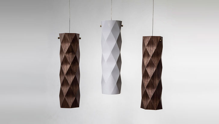 Folded Lamp / Ariel Zuckerman