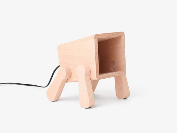 Frank desk lamp by Pana Objects 006