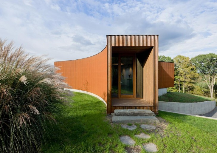 Guesthouse in Ancram / HHF architects
