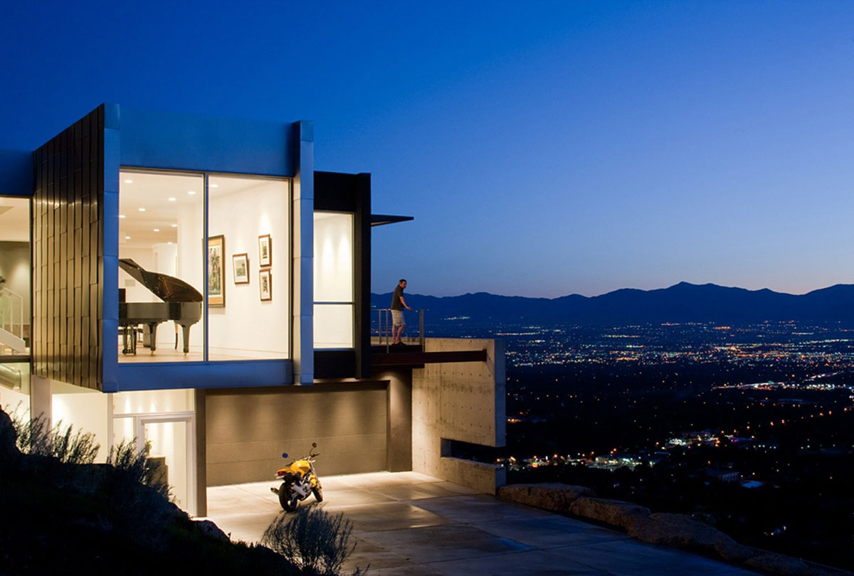 H house axis architects ideasgn for Modern home design utah