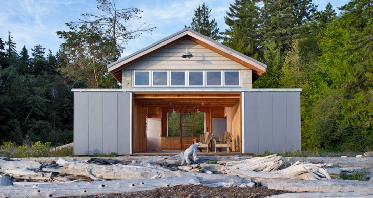 Hood Canal Boathouse / Bosworth Hoedemaker