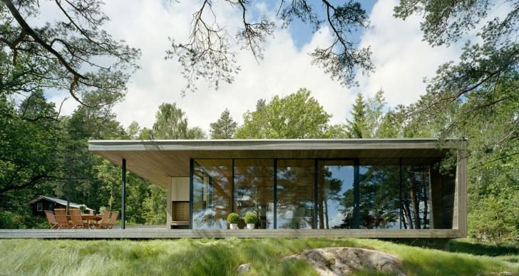 Island House / Arkitektstudio Widjedal Racki