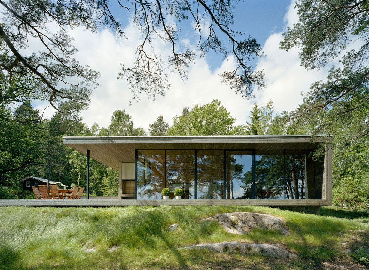 Island house stockholm archipelago by arkitektstudio for Island home designs
