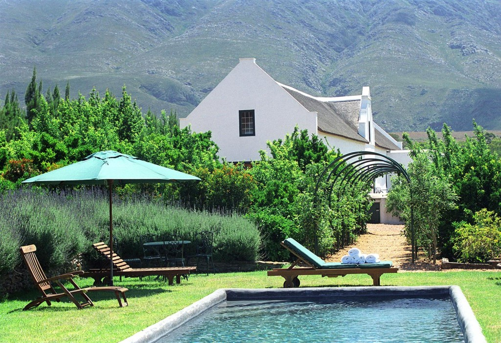 Jan Harmsgat Country House Pool South Africa