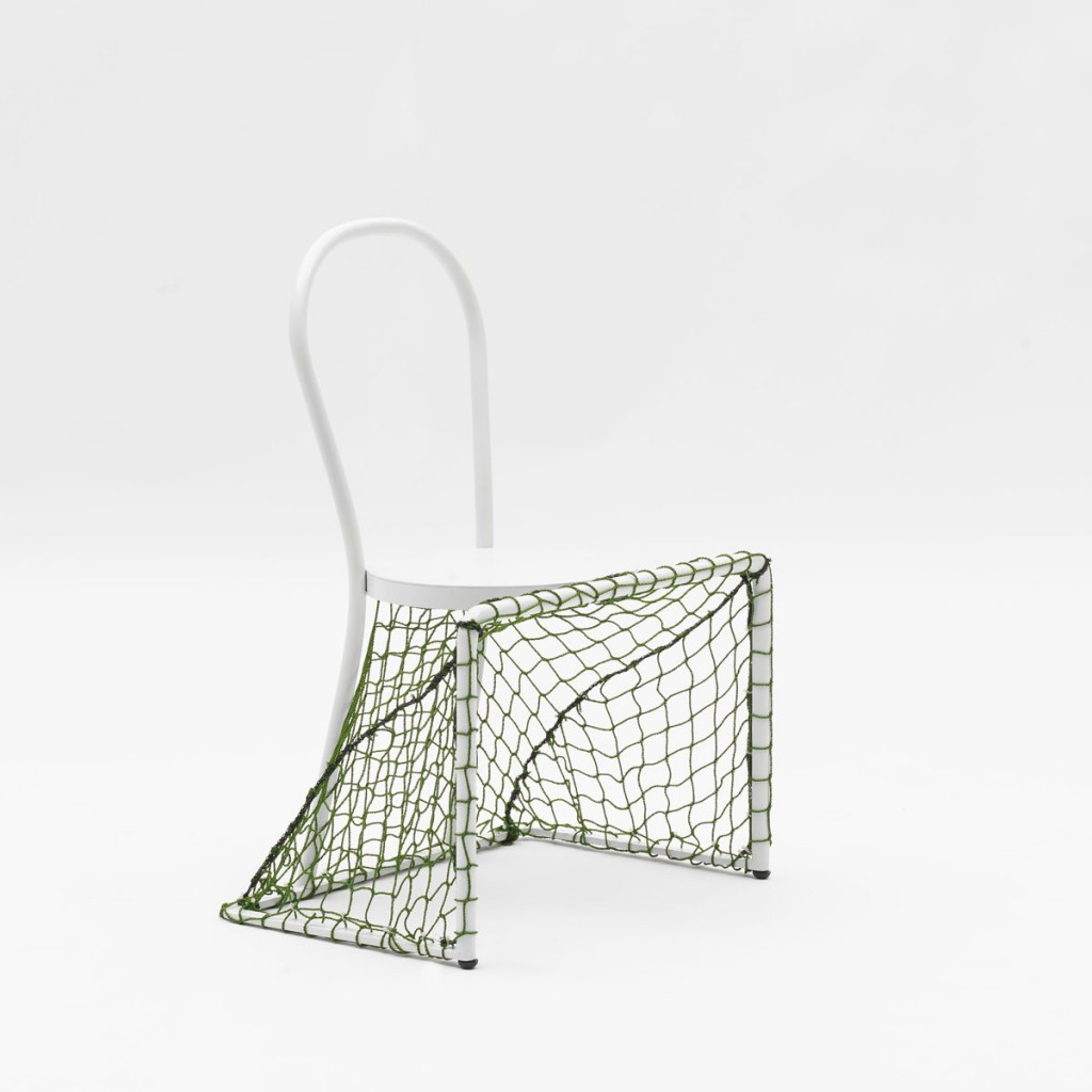 Lazy football by Emanuele Magini