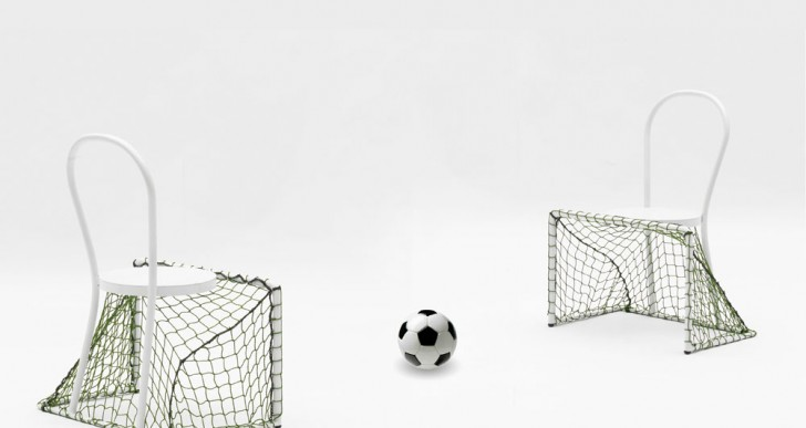 Lazy football / Emanuele Magini for Campeggi