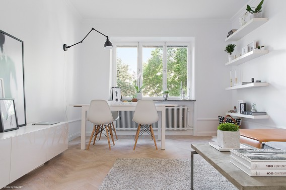 Modern Scandinavian apartment in Stockholm 001