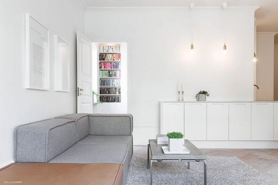 Modern Scandinavian apartment in Stockholm 007