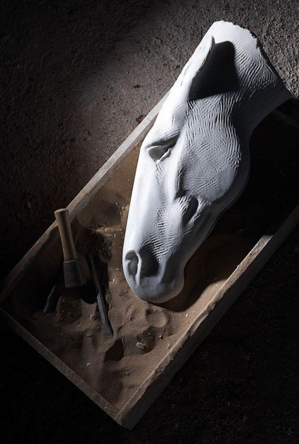 Nic Fiddian Green Horse Head Sculptures 016