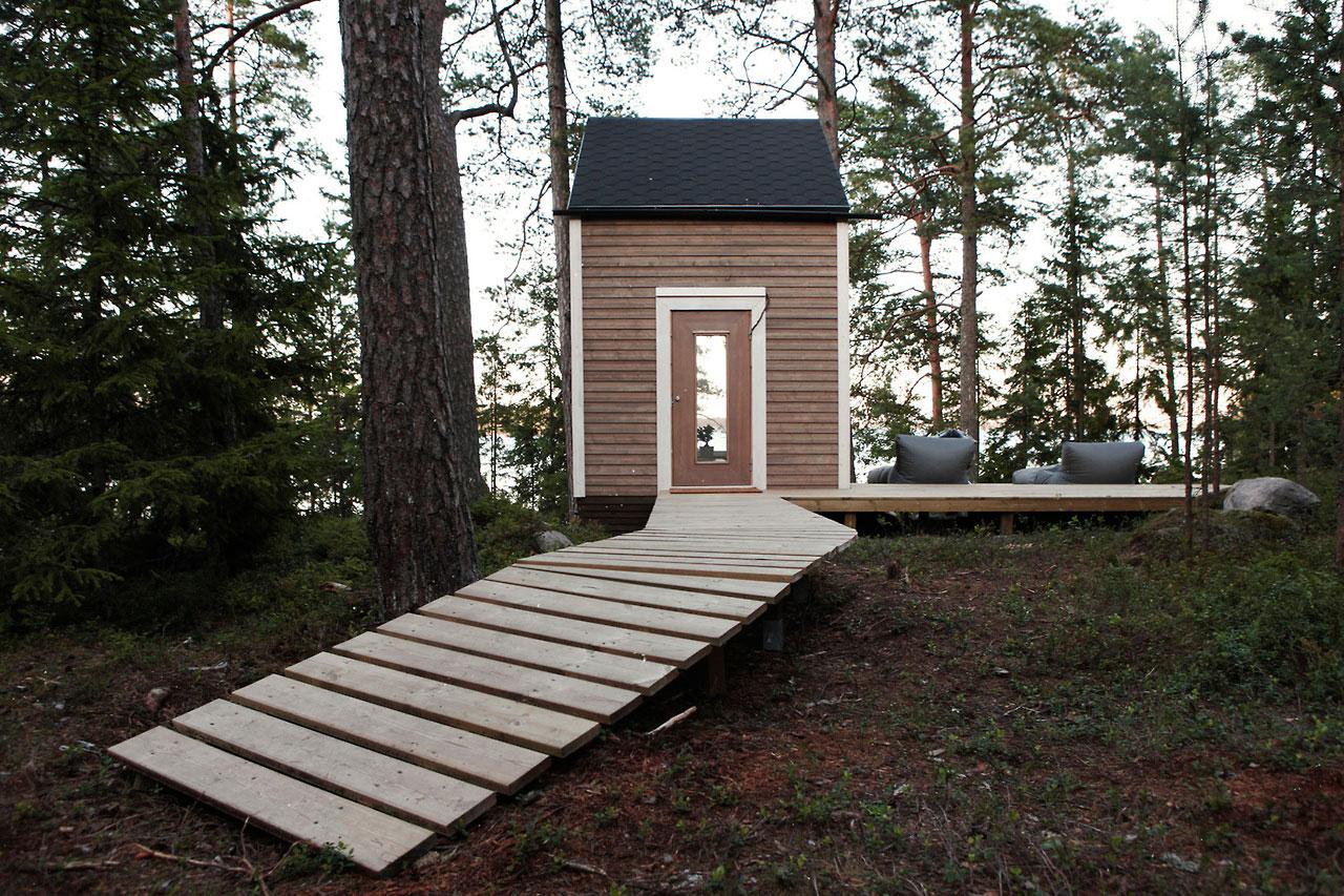 Nido micro cabin robin falck ideasgn for Micro cottage