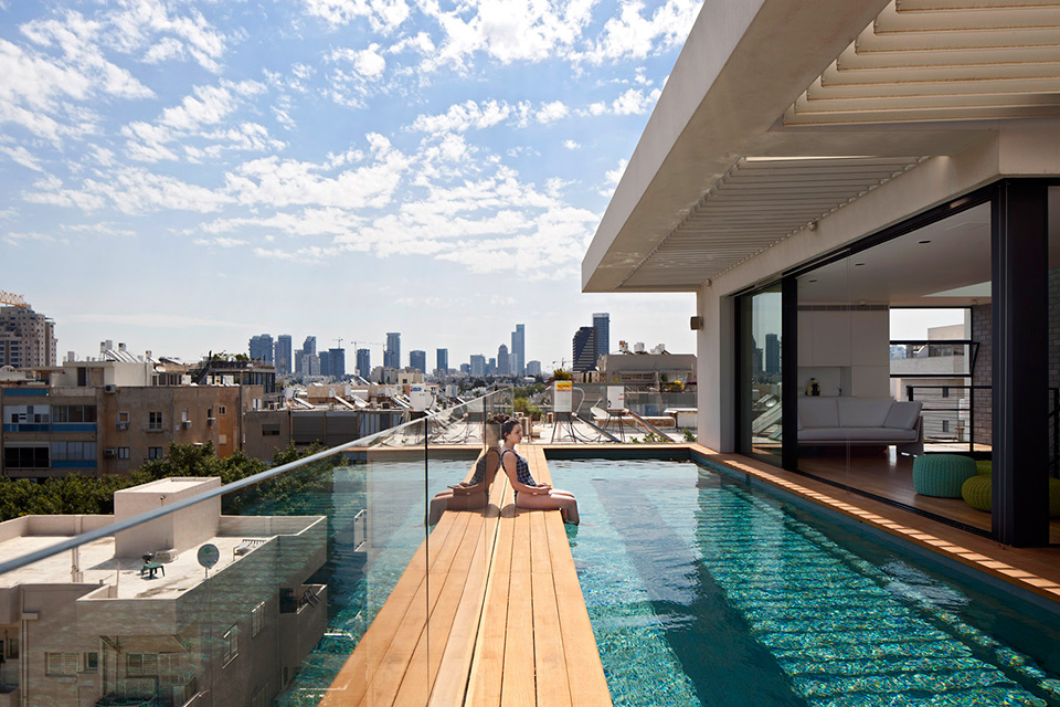 Tel aviv town house 1 pitsou kedem architect ideasgn for Dekor hotel tel