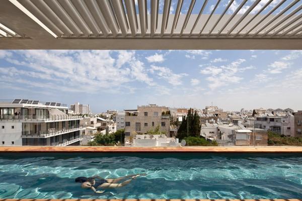 Tel Aviv Town House 1 by Pitsou Kedem Architect 005