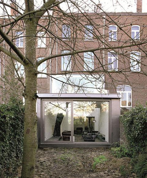 Terraced House Renovation Heverlee Belgium by Volt architecten 001a