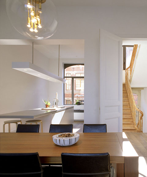 Terraced House Renovation Heverlee Belgium by Volt architecten 008