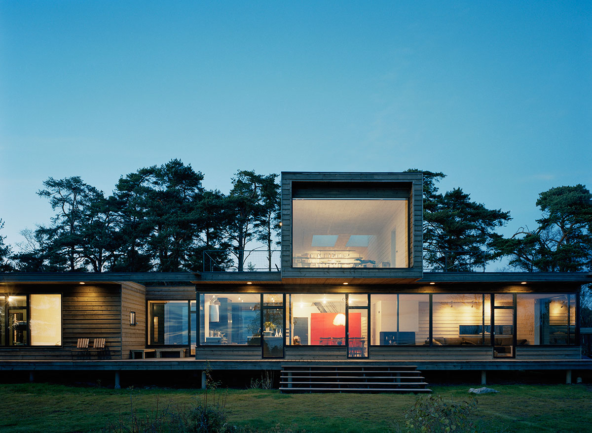 Arkitekt villa stockholm