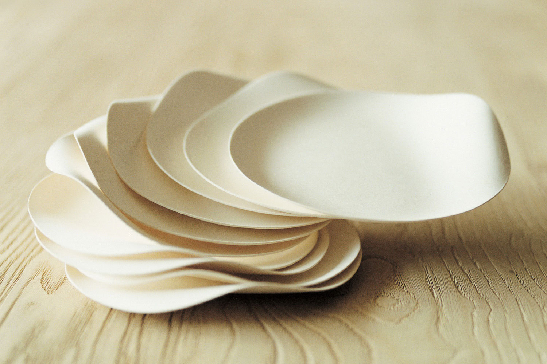 Wasara tableware shinichiro ogata ideasgn - Piatti plastica ikea ...