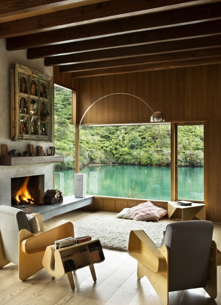 Waterfall Bay House New Zealand by Bossley Architects 002