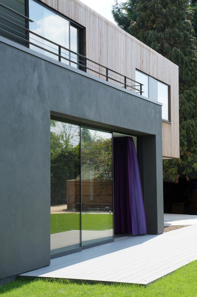 Wedge House Thames Ditton by SOUP Architects 002