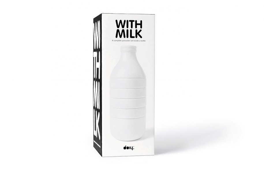 With Milk by Steve Gates for Doiy 004