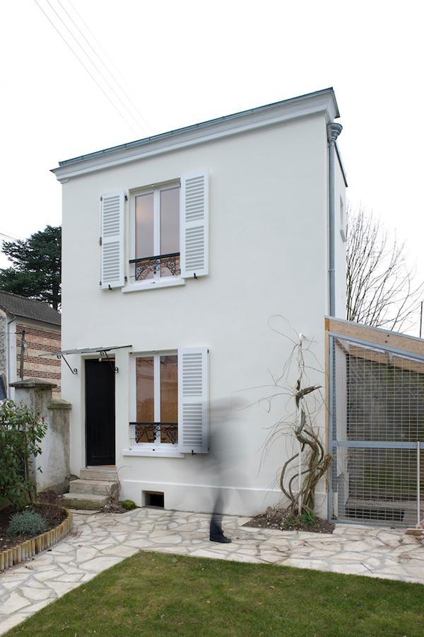chatou house h2o architectes ideasgn. Black Bedroom Furniture Sets. Home Design Ideas