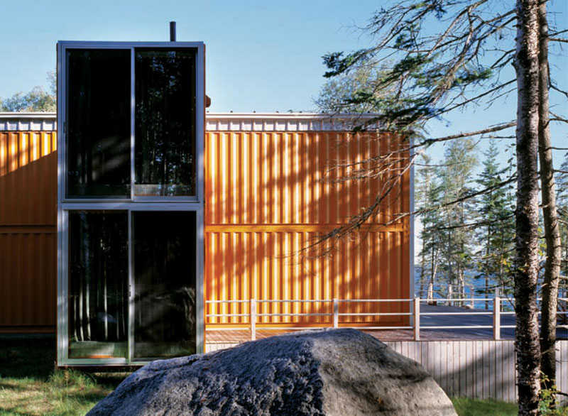 12 Container House In Blue Hill Maine Ideasgn By Adam