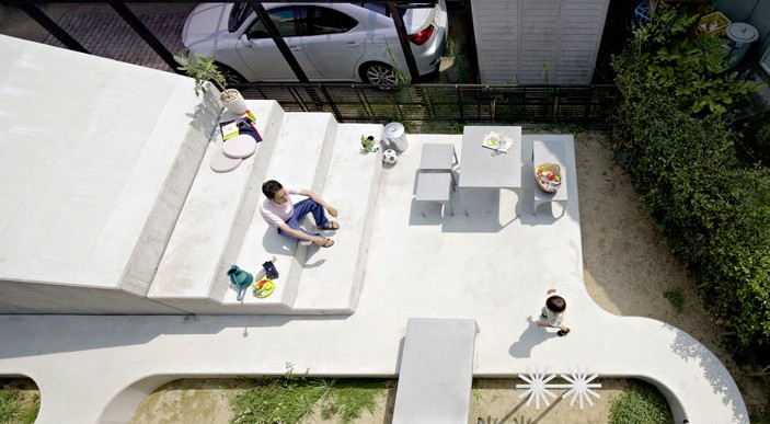 A Japanese House and Garden Renovation / Spacespace