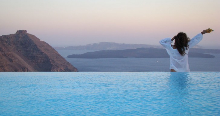 Aenaon Villas Boutique Hotel in Santorini, Greece