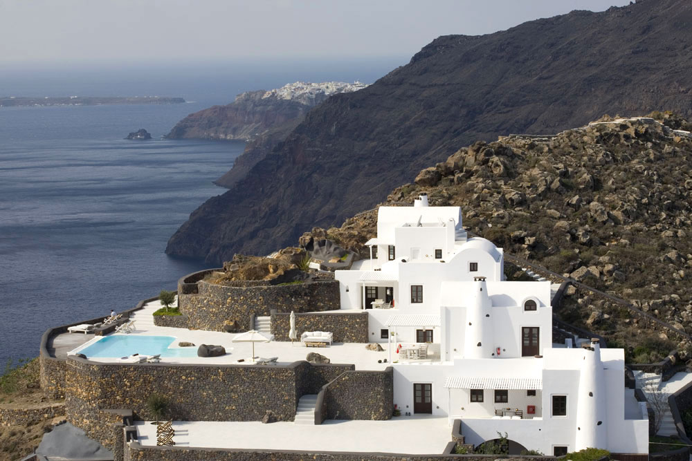 Aenaon Villas Boutique Hotel In Santorini Greece Ideasgn