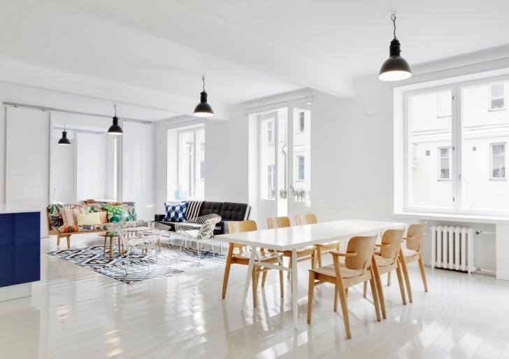 Blue and White Apartment / Linda Bergroth