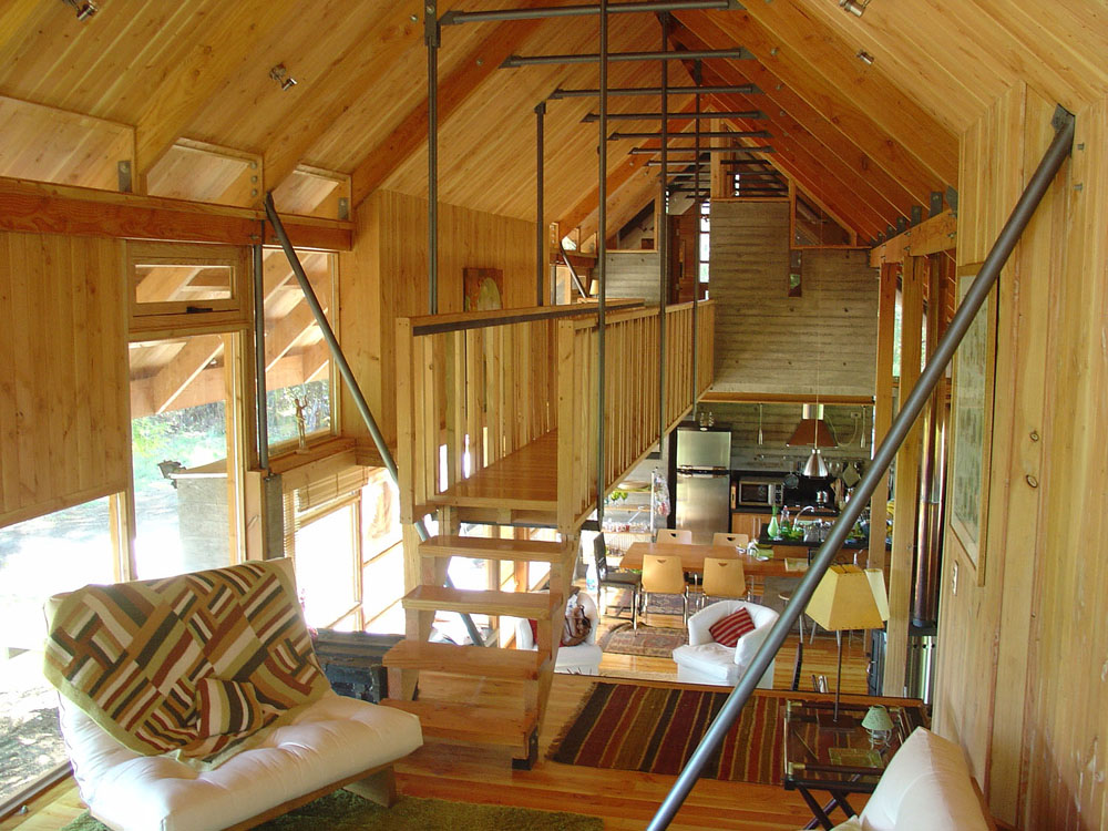 Casa dos robles aguilo pedraza arquitectos ideasgn - Fotos de casas prefabricadas de madera ...