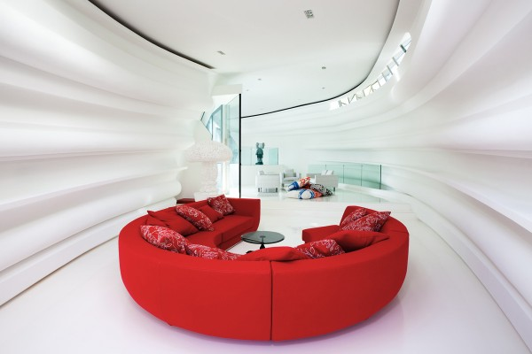 Casa Son Vida Luxury Villa Living room idea+sgn in Spain by Marcel Wanders and tecARCHITECTURE