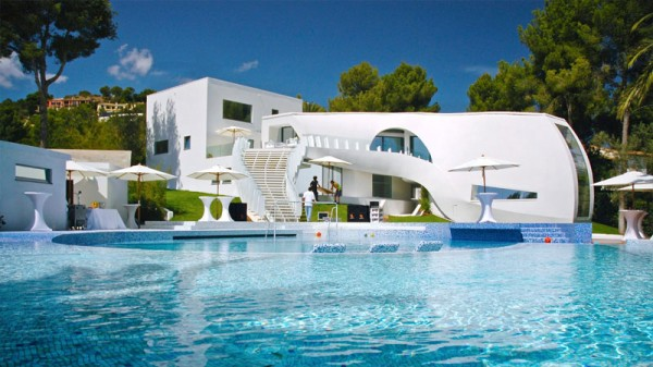 Casa Son Vida Luxury Villa Pool idea+sgn in Spain by Marcel Wanders and tecARCHITECTURE