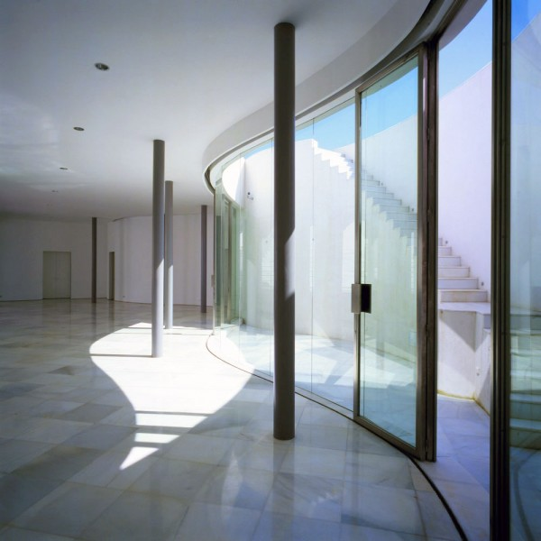 Casa de Retiro Espiritual private residence Spiritual Retreat idea+sgn in Seville by Emilio Ambasz 13