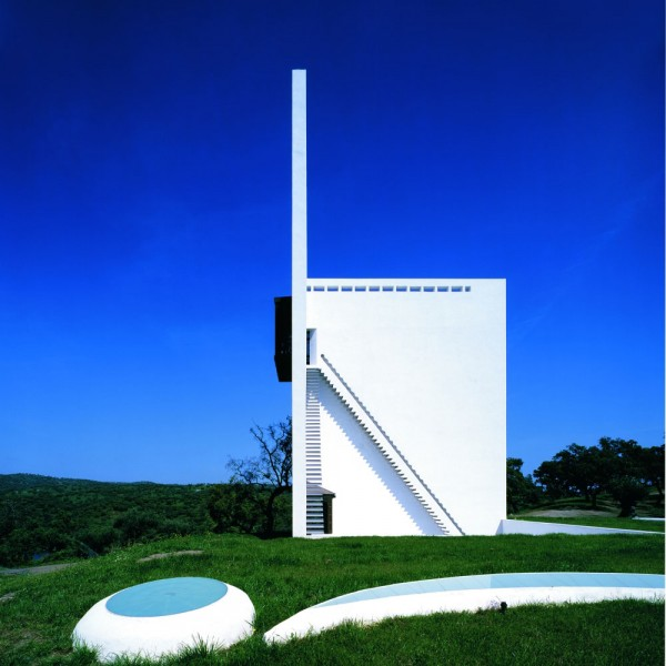 Casa de Retiro Espiritual private residence Spiritual Retreat idea+sgn in Seville by Emilio Ambasz 7