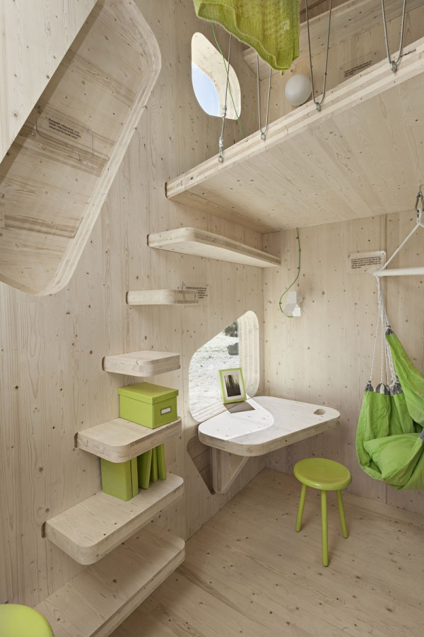 Eco-friendly Smart student units Tiny House idea+sgn by  Tengbom for AF Bostäder 4