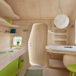 Eco-friendly Smart student units Tiny House idea+sgn by  Tengbom for AF Bostäder 5