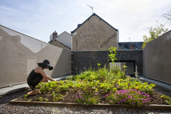 Fertile House Green design idea+sgn in France by Mu-Architecture
