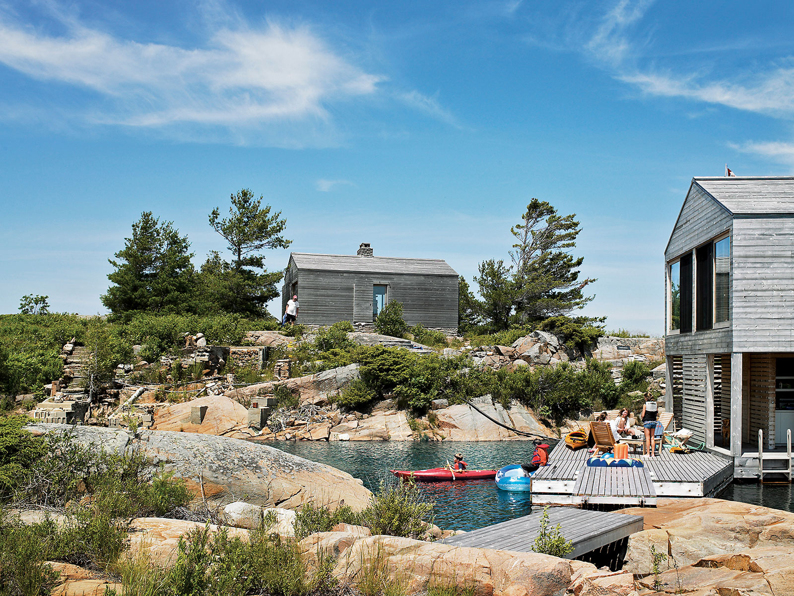 Floating House In Lake Huron Ideasgn MOS Architects
