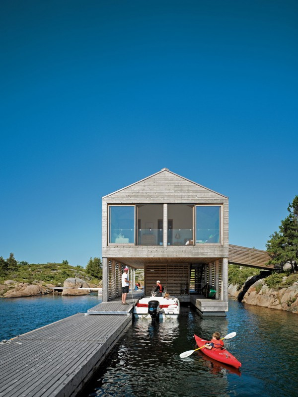 Floating House In Lake Huron Mos Architects Ideasgn