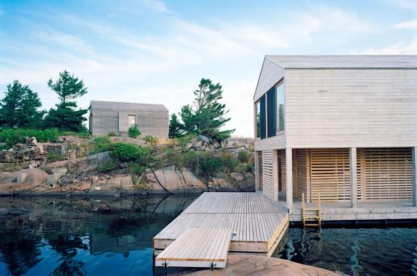 Floating House Lake Huron