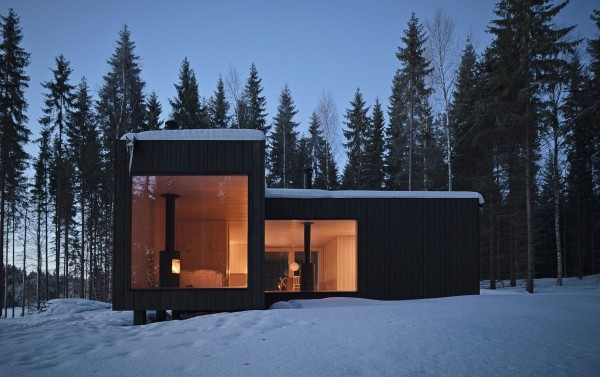 Four-cornered villa Holiday Cottage idea+sgn in Finland by Avanto Architects 11