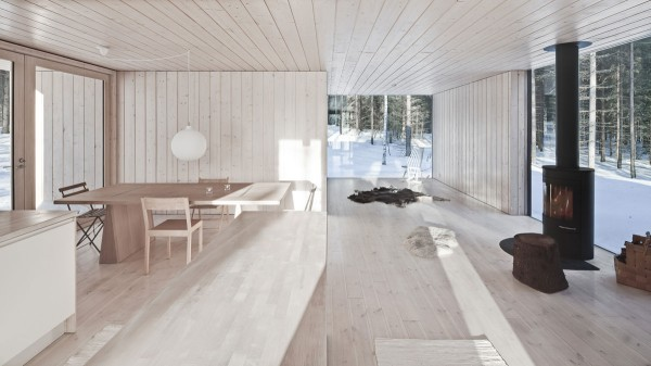 Four-cornered villa Holiday Cottage idea+sgn in Finland by Avanto Architects 27