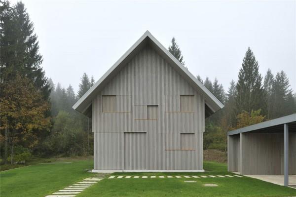 House R in Bohinj Weekend House idea+sgn by Bevk Perović arhitekti 7