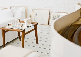 Johanne Riss's Loft Workshop All White