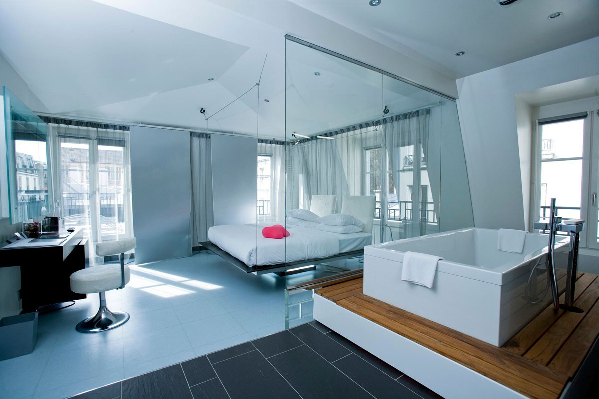 Kube hotel murano hotels resorts ideasgn for Architecte salle de bain