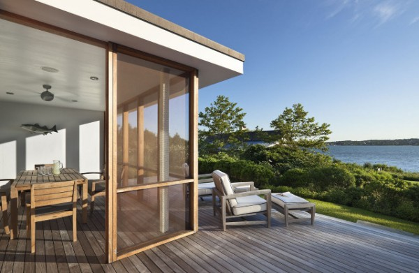 Montauk Lake House by Robert Young Architect at IDEASGN 14