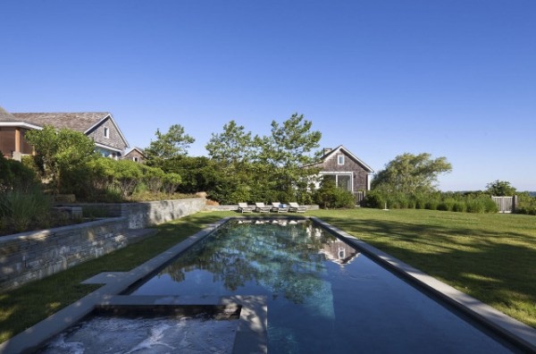 Montauk Lake House by Robert Young Architect at IDEASGN 15